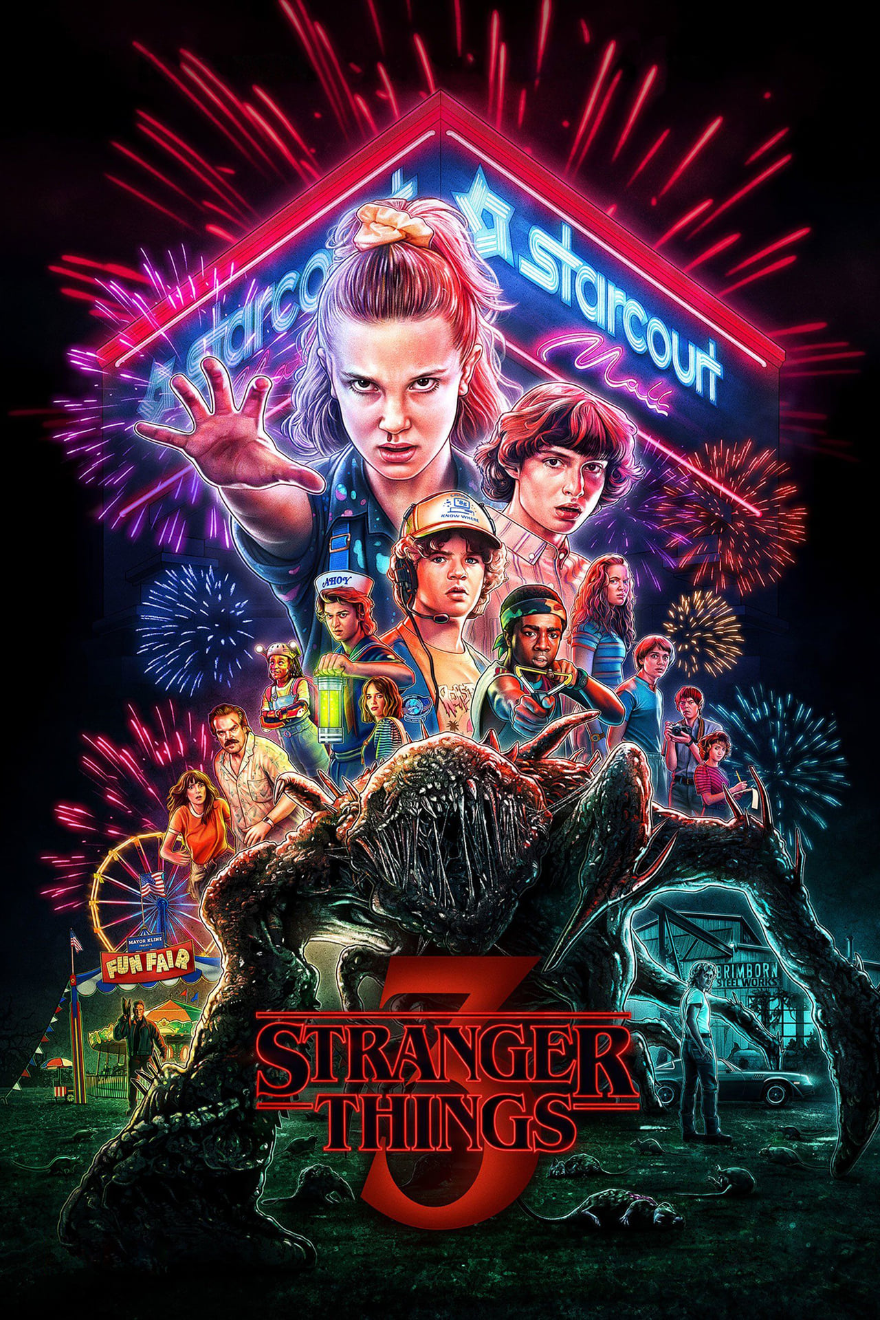 Stranger Things Season 3 Complete English